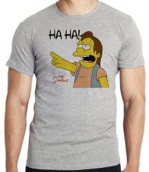 Camiseta Infantil Simpsons Nelson