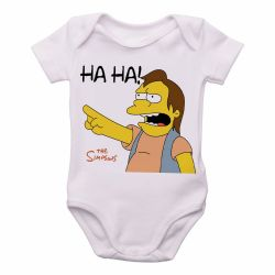 Roupa Bebê Simpsons Nelson