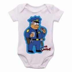 Roupa Bebê Simpsons Policial