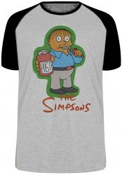 Camiseta Raglan Simpsons Ralph