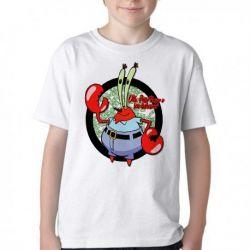 Camiseta Infantil Sirigueijo Bob Esponja