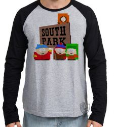 Camiseta Manga Longa South Park