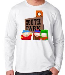 Camiseta Manga Longa South Park