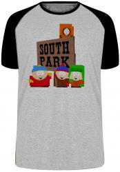 Camiseta Raglan South Park
