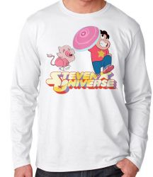 Camiseta Manga Longa Steven Universe