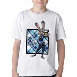 Camiseta Infantil Coelho Zootopia