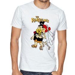 Camiseta The flinstones casamento