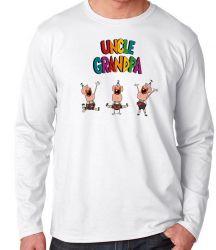 Camiseta Manga Longa Titio avô