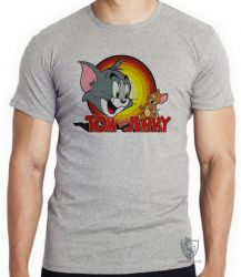 Camiseta Infantil Tom and Jerry