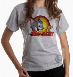 Blusa Feminina Tom and Jerry
