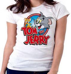 Blusa Feminina Tom and Jerry desenho