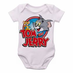 Roupa Bebê Tom and Jerry desenho