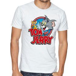 Camiseta Tom and Jerry desenho