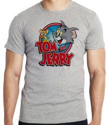 Camiseta Infantil Tom and Jerry desenho