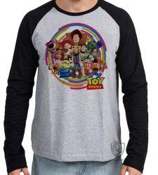 Camiseta Manga Longa Toy Story