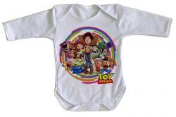 Roupa Bebê manga longa Toy Story