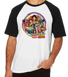 Camiseta Raglan Toy Story