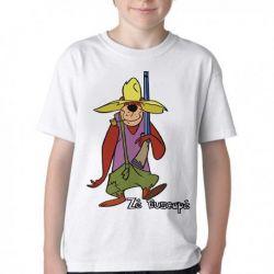 Camiseta Infantil Zé Buscapé