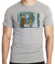 Camiseta Infantil Zé Colméia e Catatau