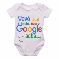 Roupa Bebê Vovó igual minha nem google acha
