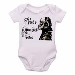 Roupa  Bebê Você é o que ouve