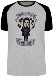 Camiseta Raglan No Touch me