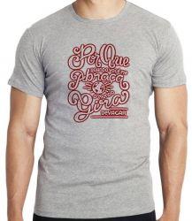 Camiseta Quando Você Abraça Mundo Gira