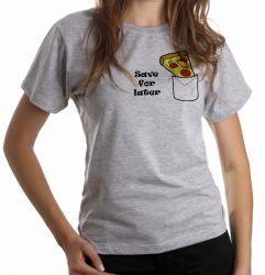 Blusa Feminina Pizza Save for later