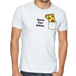 Camiseta Pizza Save for later