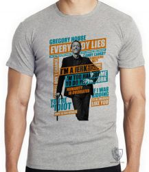 Camiseta Dr House Gregory