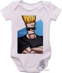 Roupa Bebê Johnny Bravo cabelo