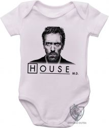 Roupa Bebê Dr House desenho