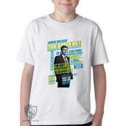 Camiseta Infantil Dr House James Wilsom