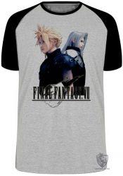 Camiseta Raglan Final Fantasy