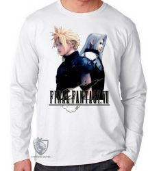 Camiseta Manga Longa  Final Fantasy