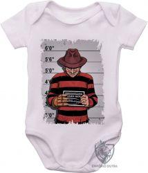 Roupa Bebê  Freddy Krueger preso
