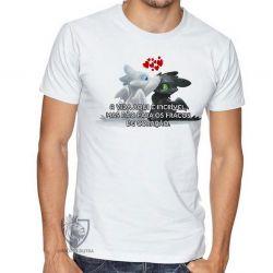 Camiseta Fúria da Noite Fúria Luminosa