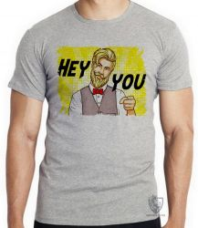 Camiseta Hipster Hey you