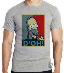 Camiseta Infantil Homer Simpsons D'oh