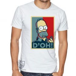 Camiseta Homer Simpsons D'oh