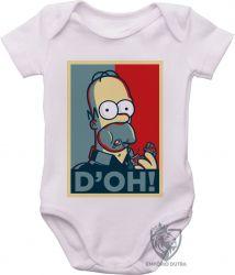Roupa Bebê Homer Simpsons D