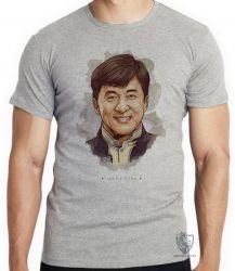 Camiseta Infantil Jackie Chan