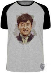 Camiseta Raglan Jackie Chan