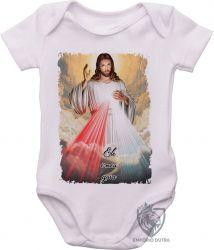 Roupa Bebê Jesus meu Guia