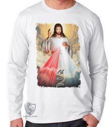 Camiseta Manga Longa Jesus meu Guia