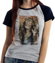 Blusa Feminina Janis Joplin