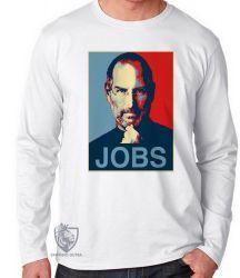 Camiseta Manga Longa Jobs