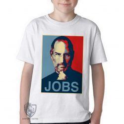 Camiseta Infantil Jobs