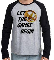 Camiseta Manga Longa Jogos Vorazes tordo