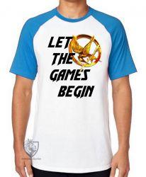 Camiseta Raglan Jogos Vorazes tordo